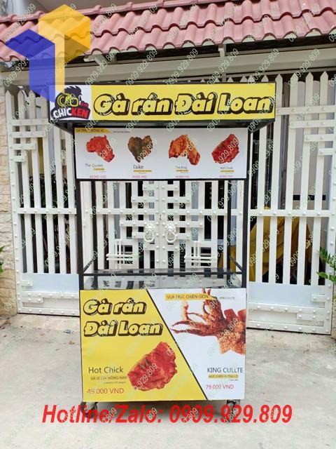xe bán cơm gà giá rẻ