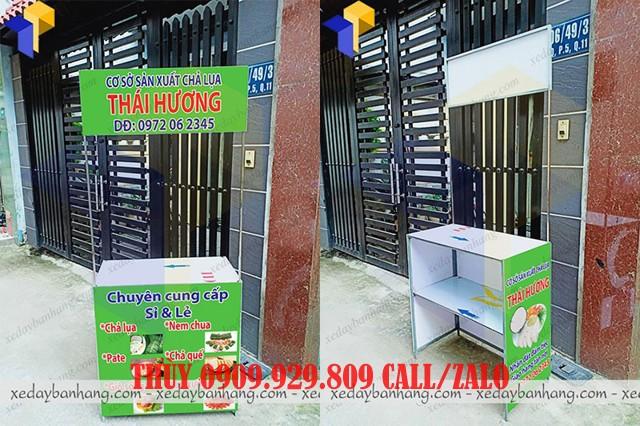 booth bán hàng lưu động bằng sắt