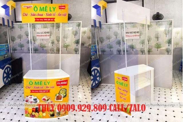 booth bán hàng bằng nhựa lắp ráp