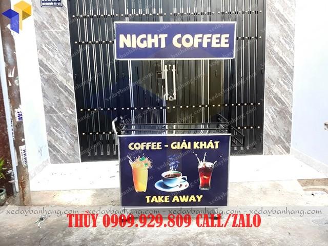 xe bán cà phê mang đi