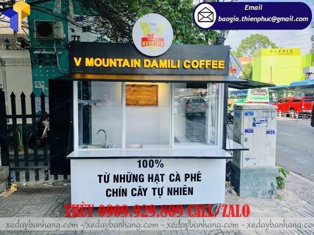 cung cấp kiot bán trà sữa