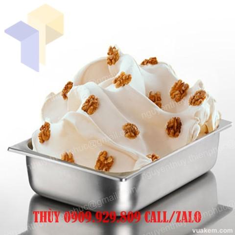 khay inox đựng kem kí