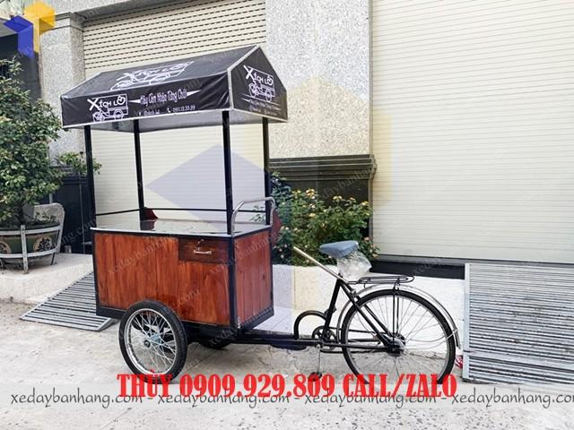 mẫu xe đạp bán hàng lưu động