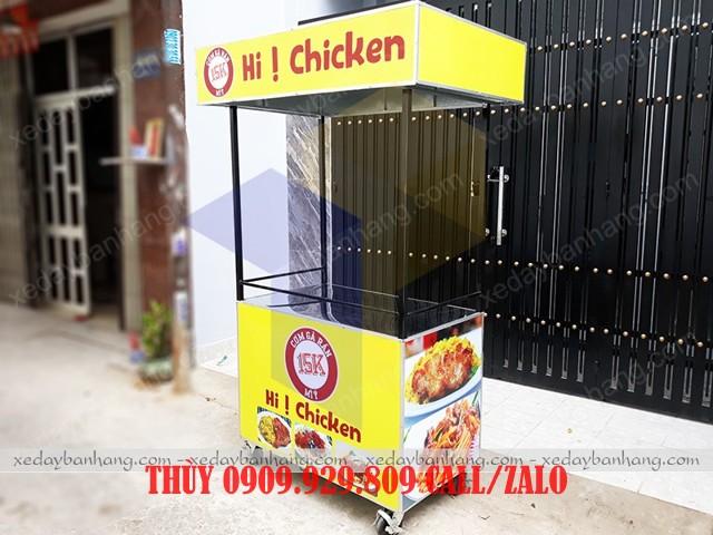 tủ bán cơm gà rán giá rẻ
