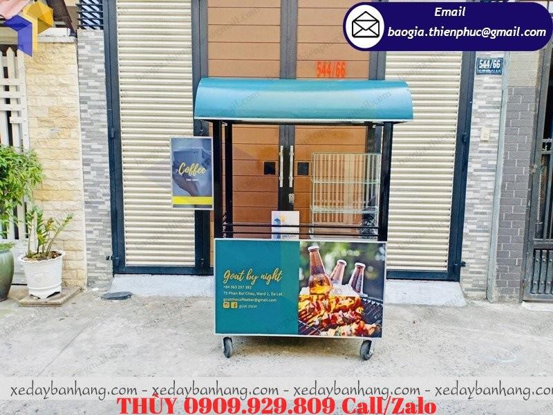 xe bán cafe ăn vặt tại lâm đồng
