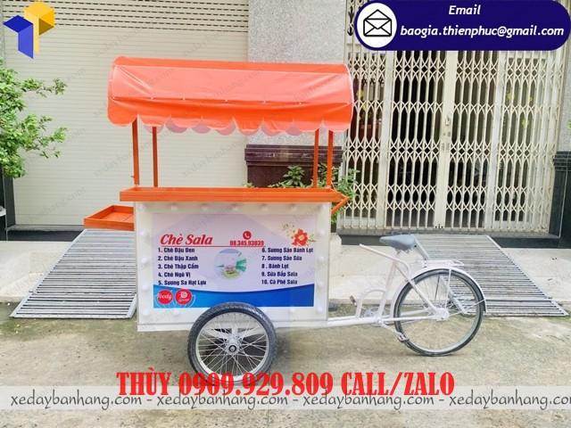 xe đạp bán chè sala
